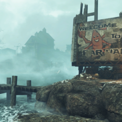 Fallout4_FarHarbor_WelcomeSign